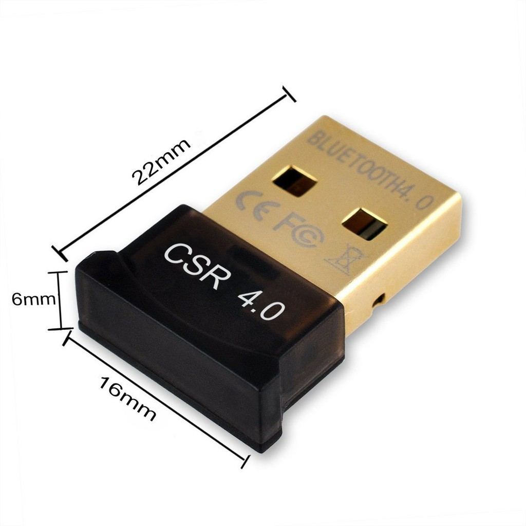 USB Bluetooth 4.0 CSR Dongle cho máy tính