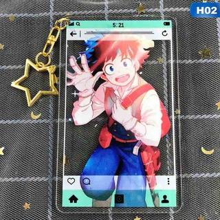Móc Khóa Hình Nhân Vật Anime Học Viện Anh Hùng thumbnail