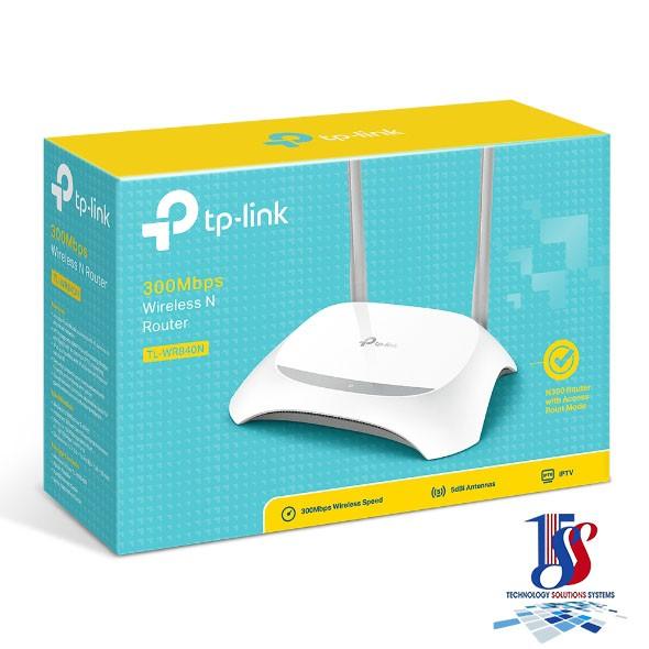 Router wifi TP-Link TL-WR840N Wireless N - Hàng chính hãng