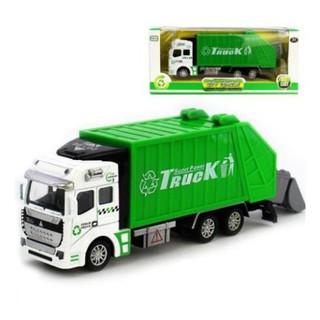 [freeship] Xe ô tô chở rác đồ chơi trẻ em mô hình
