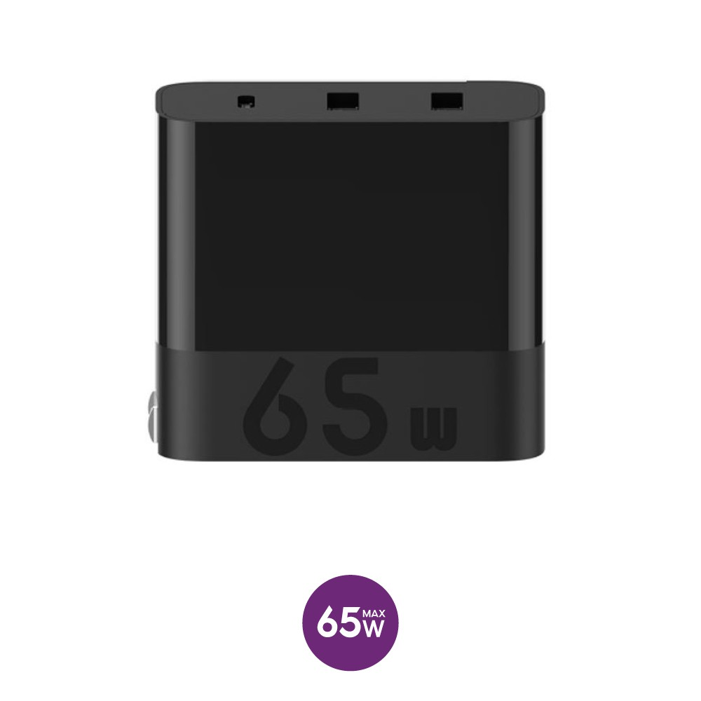 Củ sạc 65w Xiaomi ZMI HA835 chuẩn PD 3 cổng - Cốc sạc nhanh Xiaomi ZMI HA832 3 cổng 65w