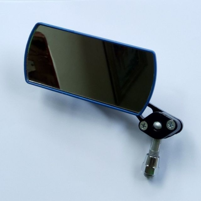 Gương xe máy hình chữ nhật, gương nhỏ chiếu hậu dùng cho mọi loại xe