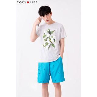 Quần shorts Nam đi biển, đi bơi TOKYOLIFE chống thấm nước tiện dụng, năng động X7SHP-001C thumbnail