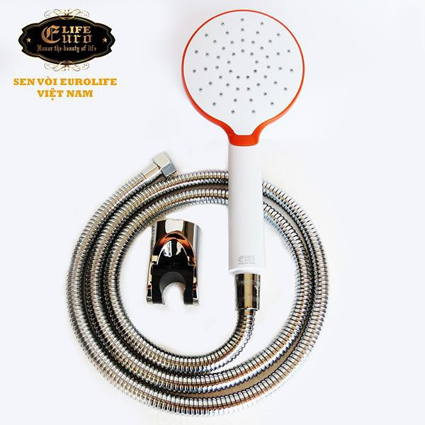 Bộ dây tay sen 1 chế độ EUROLIFE EL-107SH (Trắng - Cam) - 10041643 , 361487648 , 322_361487648 , 170000 , Bo-day-tay-sen-1-che-do-EUROLIFE-EL-107SH-Trang-Cam-322_361487648 , shopee.vn , Bộ dây tay sen 1 chế độ EUROLIFE EL-107SH (Trắng - Cam)