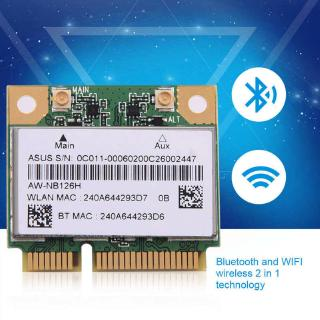 [Apill] Bluetooth WIFI 2 in 1 Wireless Card Mini PCI-E Slot DELL 2.4G