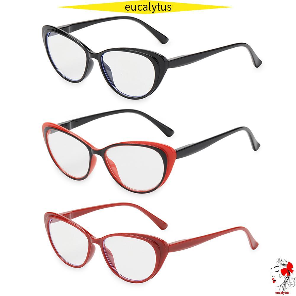 🌸EUTUS🌸 Fashion Presbyopia Eyeglasses Round Floral Frame Spring Hinge Reading Glasses Women & Men Ultra-clear Vision Anti Glare Vintage Readers...
