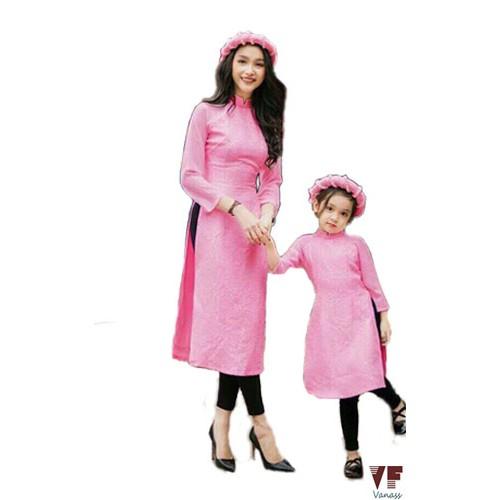 [ Kèm mấn và quần] Set áo dài cách tân mẹ và bé VADD05 - 2814749 , 704448552 , 322_704448552 , 700000 , -Kem-man-va-quan-Set-ao-dai-cach-tan-me-va-be-VADD05-322_704448552 , shopee.vn , [ Kèm mấn và quần] Set áo dài cách tân mẹ và bé VADD05