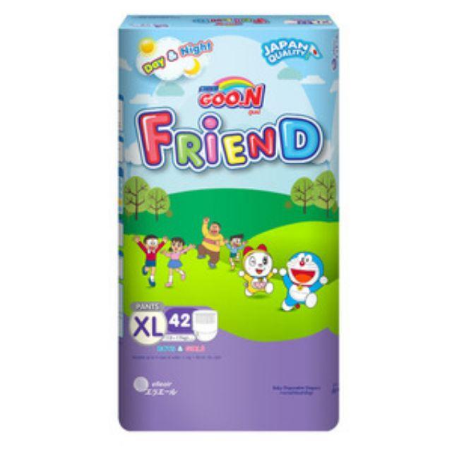 Bỉm - Tã quần Goon Friend size XL42, XXL34