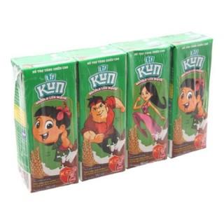 Lốc 4 hộp Kun socola 180ml – Thinhthuy9119
