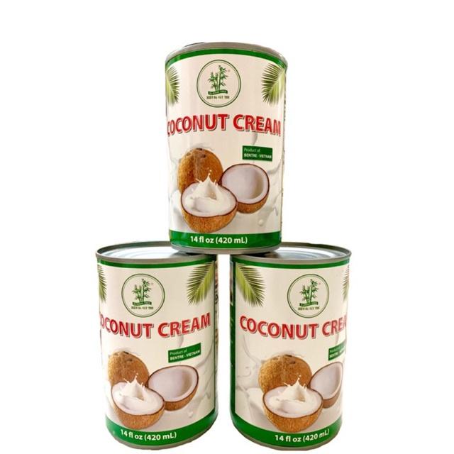 Nước Cốt Dừa Ba Cây Tre cao cấp lon 420ml (Coconut Cream)