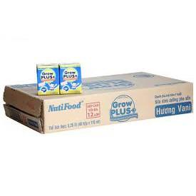 1 thùng sữa bột pha sẵn grow plus xanh 110ml