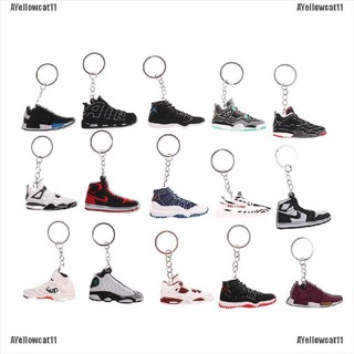 AYellowcat 10Pcs Creative Cartoon Jordan Sports Shoes Keychain Toys Kids Toys Gift