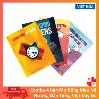 Mèo Nổ Mở Rộng Combo 4 Bản Việt Hóa Chuẩn Đẹp