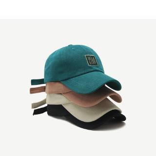 Mũ Bóng Chày Vải Cotton Thêu Chữ Phong Cách Hàn Quốc Thời Trang