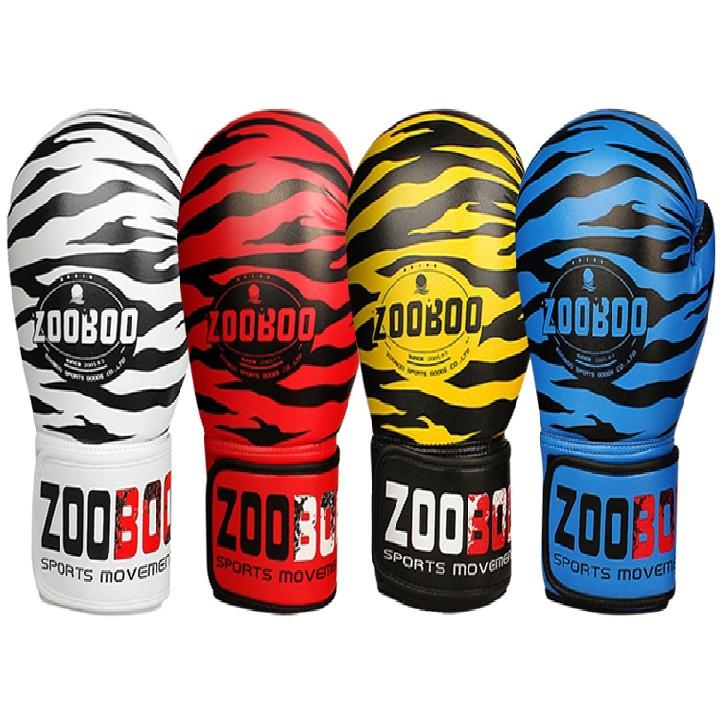 [ Giá Hủy Diệt ] Găng tay đấm bốc - Găng đấm bốc zooboo thế hệ mới - Êm hơn, ưu việt hơn, bền bỉ hơn - Full màu, và size