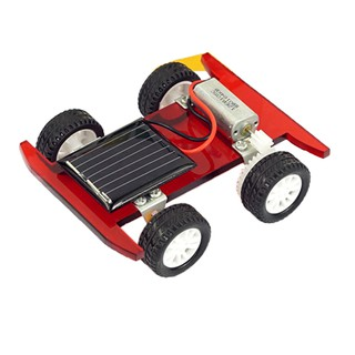 DIY Assembled Solar Power Car Model Science Technology Educational Toy Gifts