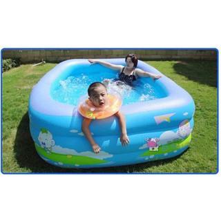 Bể bơi phao 3 tầng 180cm