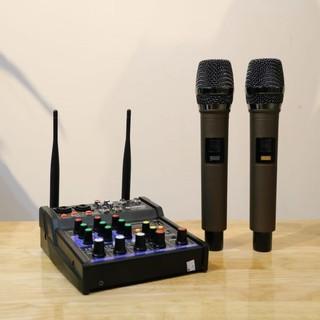 Mixer G4 USB - Có bluetooth 5.0 - Chuyên dùng livestream, karaoke gia đình thumbnail