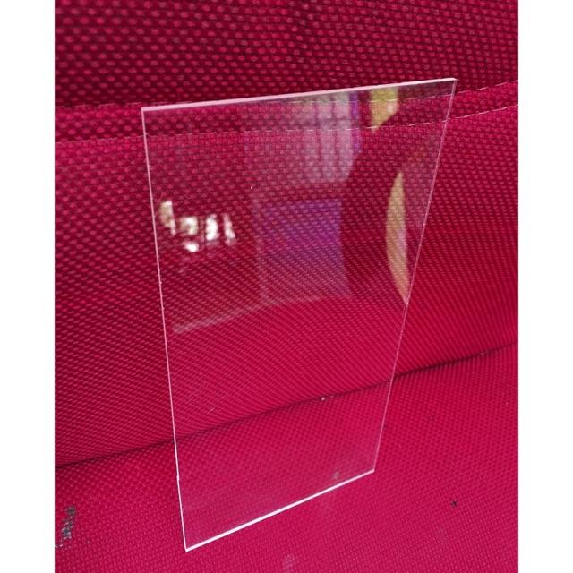Bìa Mica kiếng trong suốt cao cấp dày 5li (kt: 20x30)