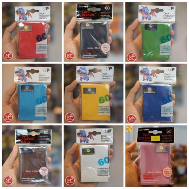 Bọc thẻ bài Pro-Regular sleeve dành cho yugioh, vanguard - Chính hãng Ultra PRO USA - 60 cái