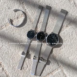 Đồng hồ WW nam nữ dây thép kiểu dáng sang trọng cho tuổi teen