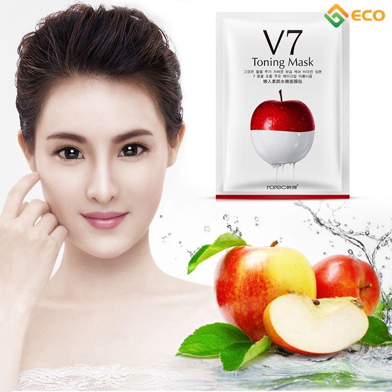Mặt nạ V7 giúp dưỡng ẩm thoáng khí hiệu quả