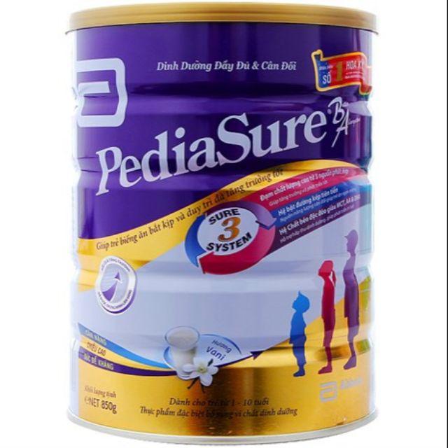 Sữa PediaSure BA 850g DATE 2020