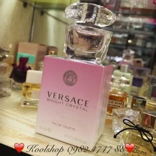 Mini 5ml nước hoa nữ Versace Bright Crystal EDT thumbnail