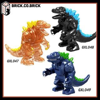 PRCK GXL047 048 049 Đồ chơi lắp ráp minifigure và bigfig nhân vật lego siêu thú Godzilla.