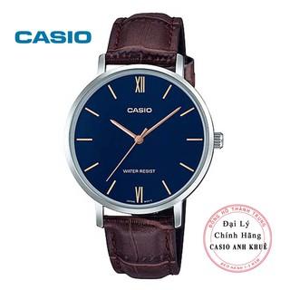 Đồng hồ nam Casio MTP-VT01L-2BUDF dây da
