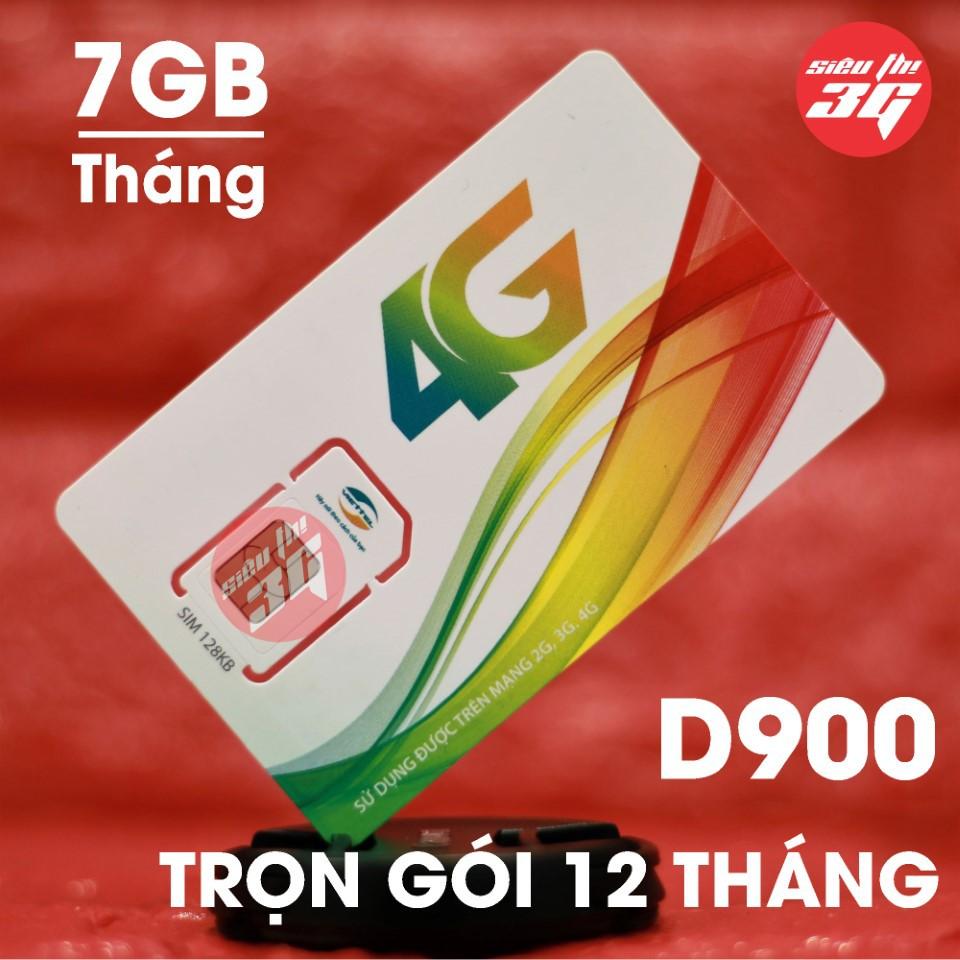Sim 4G Viettel trọn gói 1 năm 7GB/Tháng D900, Shop Sim giá rẻ 3G/ 4G các loại vina - 3012332 , 1206195827 , 322_1206195827 , 260000 , Sim-4G-Viettel-tron-goi-1-nam-7GB-Thang-D900-Shop-Sim-gia-re-3G-4G-cac-loai-vina-322_1206195827 , shopee.vn , Sim 4G Viettel trọn gói 1 năm 7GB/Tháng D900, Shop Sim giá rẻ 3G/ 4G các loại vina