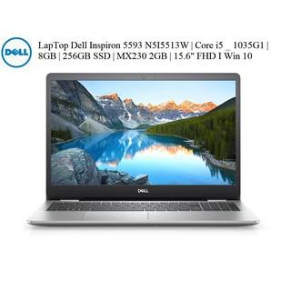 LapTop Dell Inspiron 5593 N5I5513W | Core i5 _ 1035G1 | 8GB | 256GB SSD | MX230 2GB | 15.6