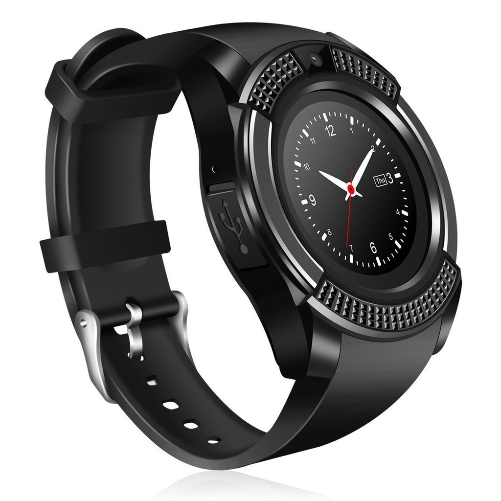 [ Siêu rẻ ] Đồng hồ thông minh Smart Watch V8