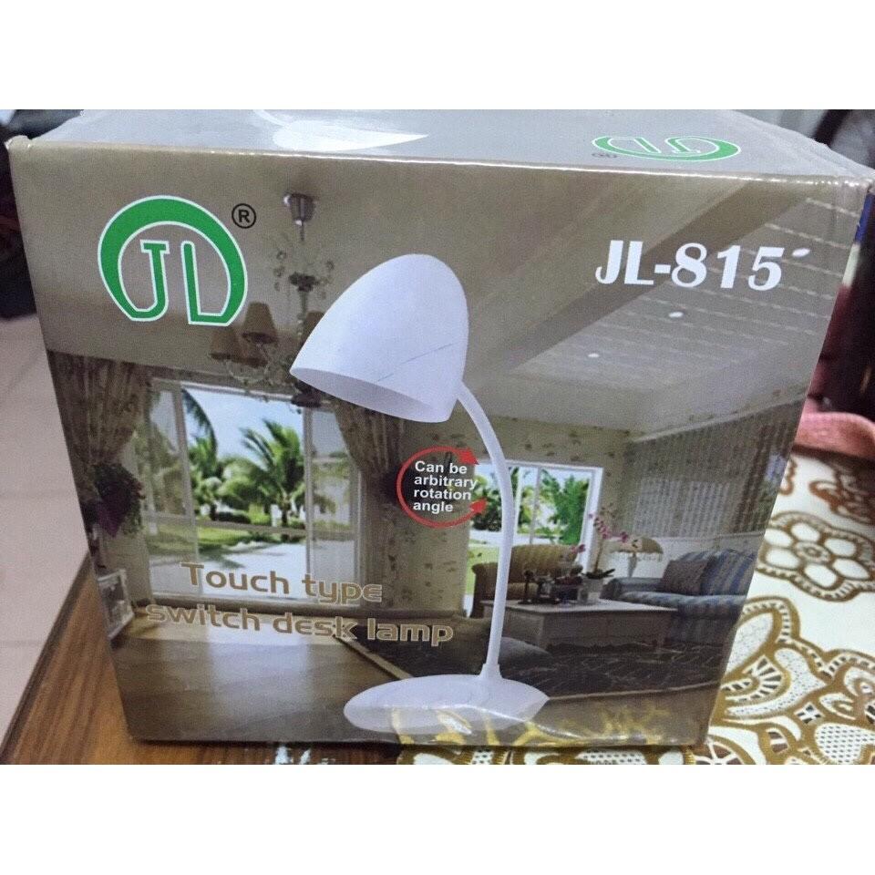 Đèn để bàn JL-815 nút cảm ứng kiêm sạt dự phòng 3000mah