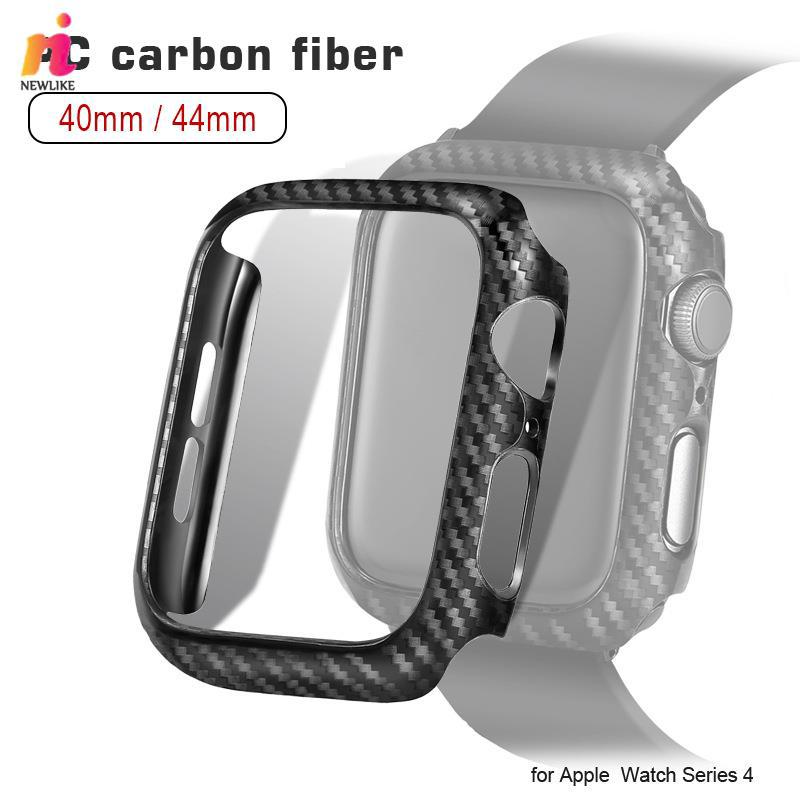 NEW for Apple Watch Watch Case Watch Shell Carbon Fiber 40mm 44mm Sports Furl Protective