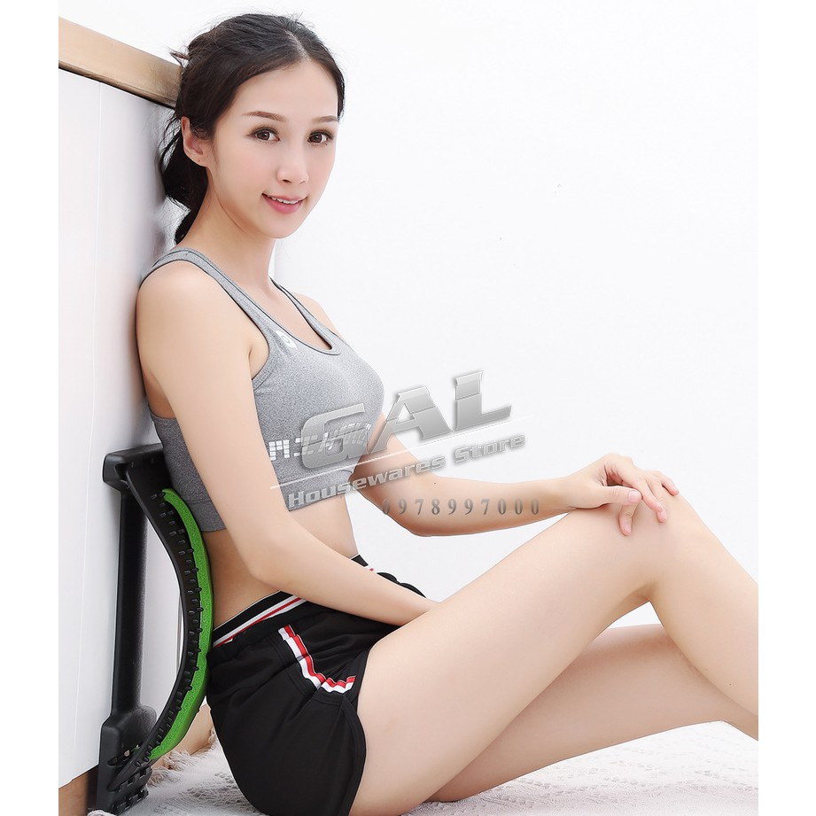 Thiết bị chống căng cơ lưng Massage Magic lưng thư giãn Mate Đau cột sống - định hình cột sống