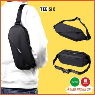 Túi đeo chéo nam & nữ TEE SIK   Túi bao tử với thiết kế chống nước, chống xước cực kì hiệu quả – TS25