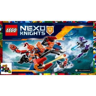 Lego Nexo Knights – Rồng Bay Máy Của Macy 70361