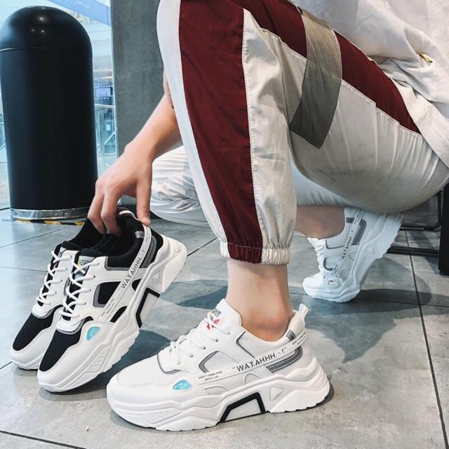 Giày nam tăng chiều cao 5cm Phản Quang WATAHHH cực chất - giày thể tha
