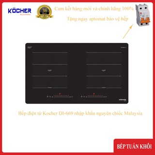 Bếp điện từ Kocher DI-669 nhập khẩu nguyên chiếc Malaysia