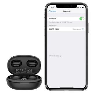Tai nghe bluetooth mini TWS Hoco es35, tai nghe nhét tai công nghệ Bluetooth V5.0 Chính hãng, bảo hành 24 tháng