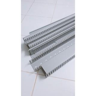 Thanh máng nhựa lắp tủ điện 25×25 – 25×45 – 33×33 – 33×45 – 45×45 – 45×65 – 65×65 dài 1m7