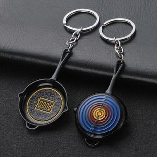 Móc chìa khóa hình chảo PUBG (lo