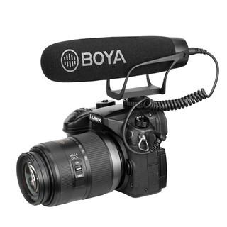 Mic ghi âm Boya BY-BM2021 giảm ồn, độ nhạy cao cho điện thoại , máy ảnh để l (FB321)