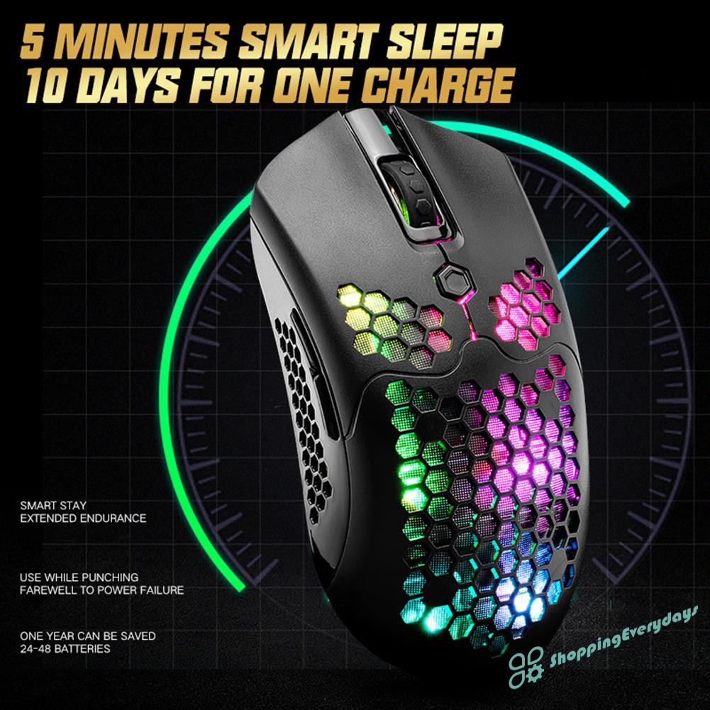 Chuột Gaming Sv X2 Không Dây 5 Nút 12000 Dpi