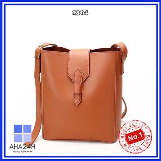 Túi xách nữ thời trang 🍃FREESHIP🍃túi vintage hàn quốc cao cấp khóa bấm siêu xinh AH1304