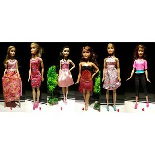 Thanh lý búp bê barbie thời trang chính hãng