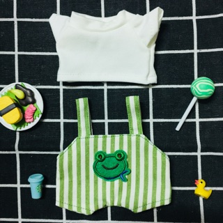 (Outfit doll) Set yếm xanh