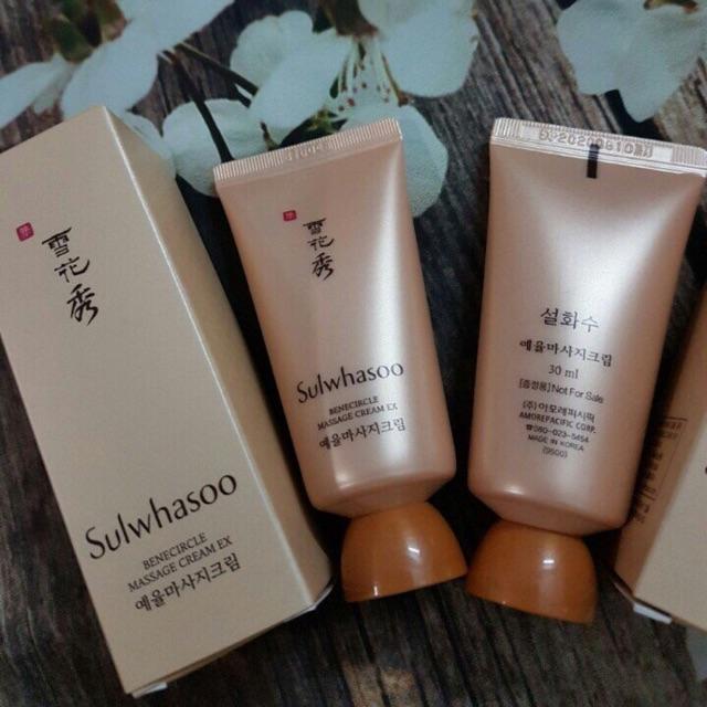 Kem Massage Sulwhasoo Benecircle Massage Cream 30ml (1 lọ)