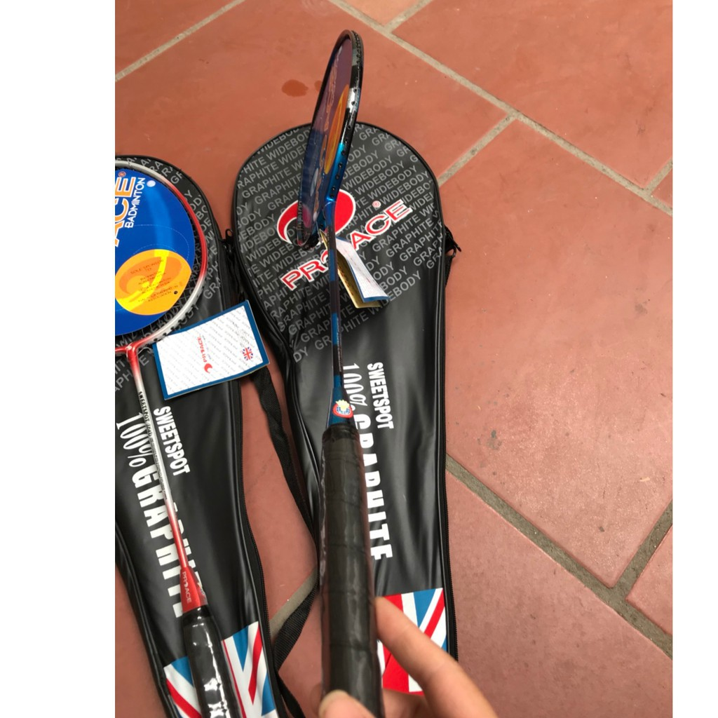 Bộ 2 cây Vợt cầu lông Proace giá rẻ tập luyện - dùng cho HS - SV và gia đình
